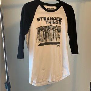 💛 Stranger Things Baseball Tee